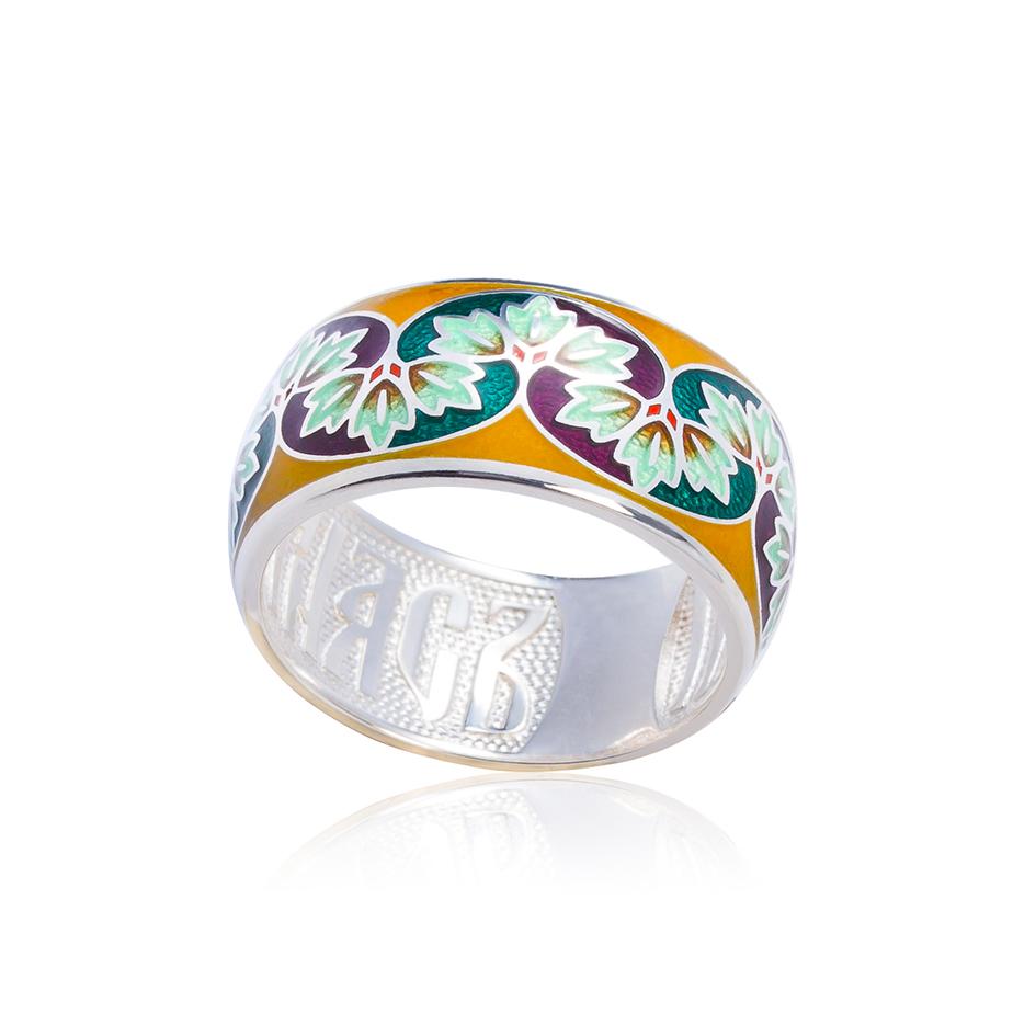 k10 1 - Кольцо из серебра «Времена года. Осень»