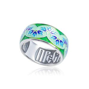 k7 1 300x300 - Кольцо из серебра «Времена года. Весна»