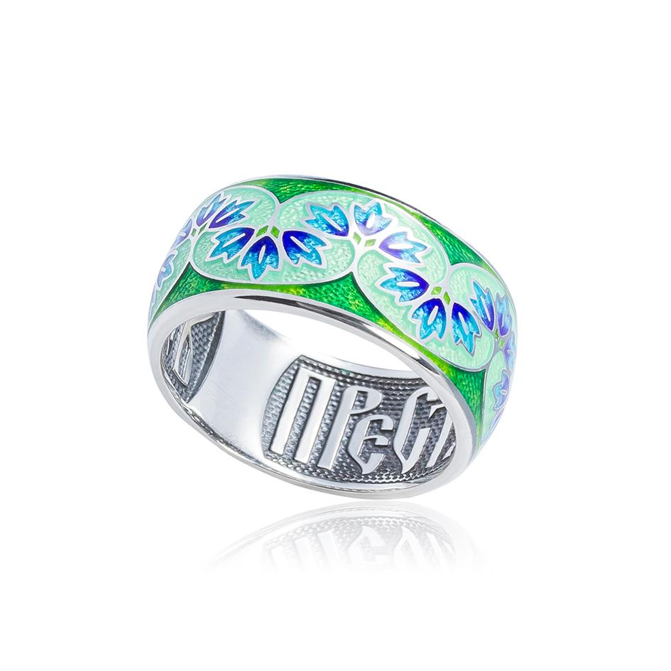 k7 1 - Кольцо из серебра «Времена года. Весна»