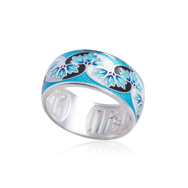 """k8 1 600x600 - Кольцо из серебра """"Времена года. Зима"""""""