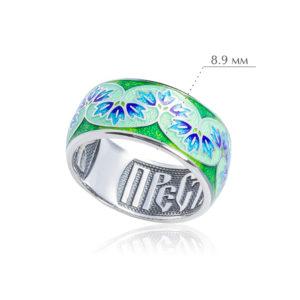 vesna 300x300 - Кольцо из серебра «Времена года. Весна»