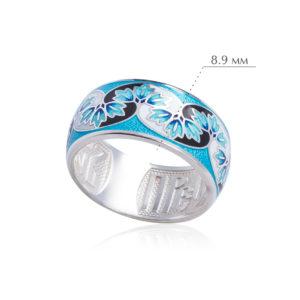 zima 300x300 - Кольцо из серебра «Времена года. Зима»