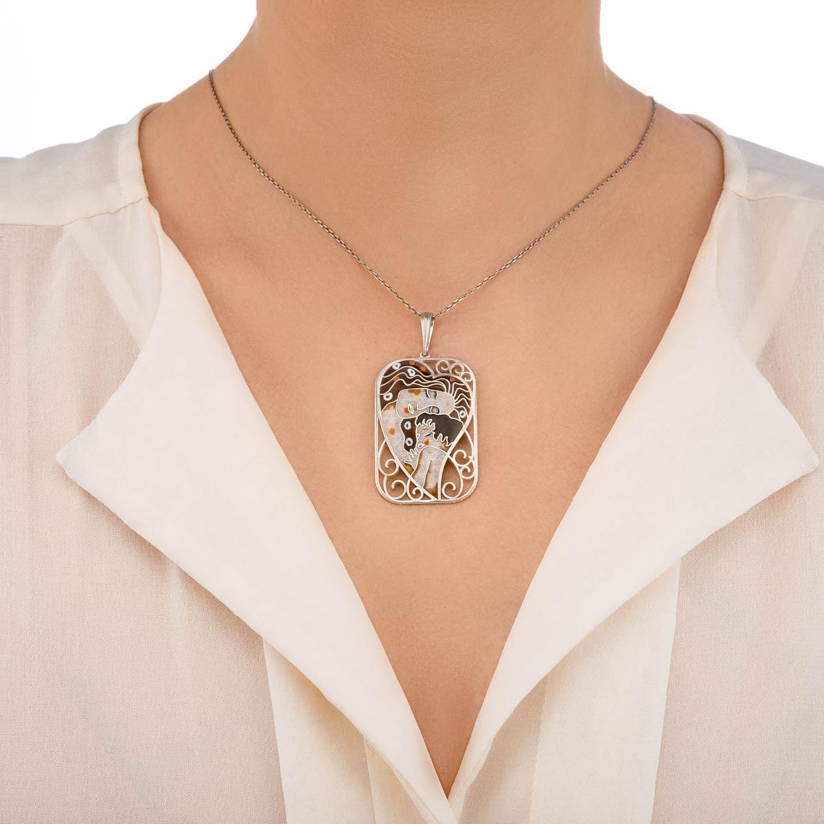podveska materinstvo - Подвеска из серебра «Материнство»
