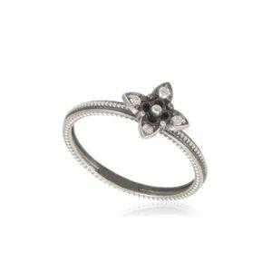 61 204s 300x300 - Кольцо из серебра «Четырехлистник»