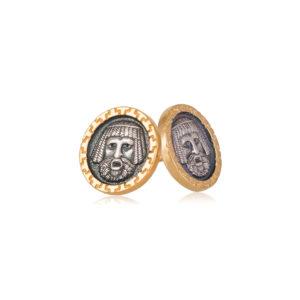 vavilonecz 2 300x300 - Пуссеты серебряные «Вавилонец»