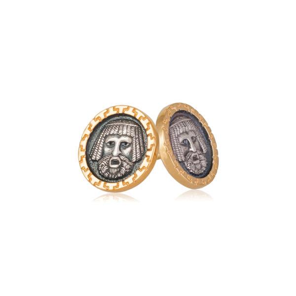 vavilonecz 2 600x600 - Пуссеты серебряные «Вавилонец»