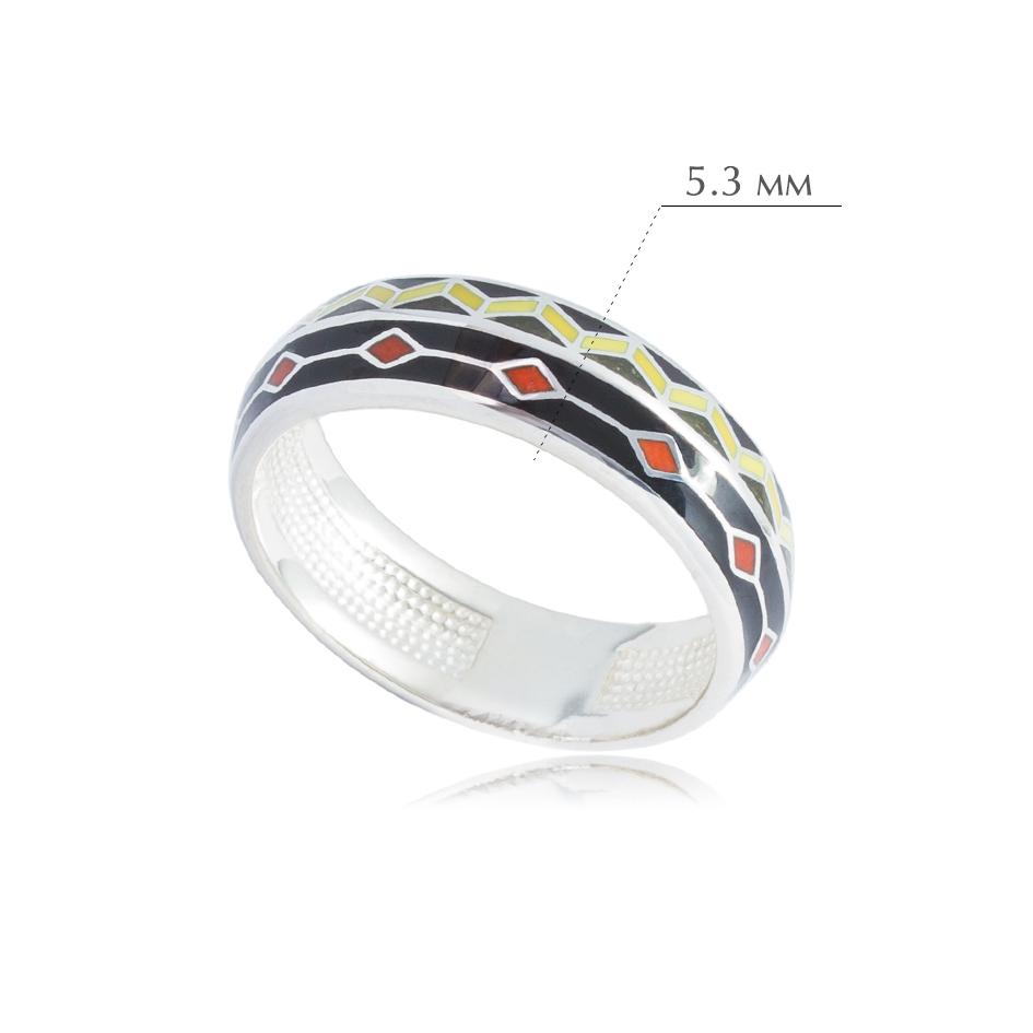 61.187 - Кольцо из серебра «Мозаика»