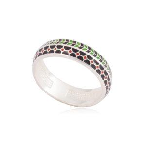 61 188 1s 300x300 - Кольцо из серебра «Мозаика»