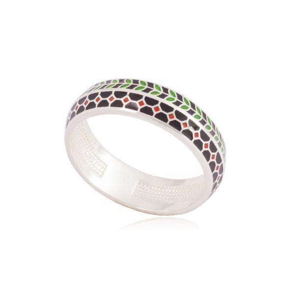 61 188 1s 600x600 - Кольцо из серебра «Мозаика»