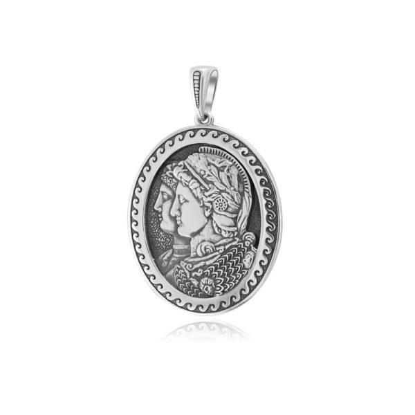 7 61s 600x600 - Серебряная подвеска «Камея Гонзага»