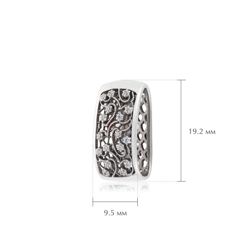 kruzhevnicza 1 - Подвеска из серебра «Кружевница»