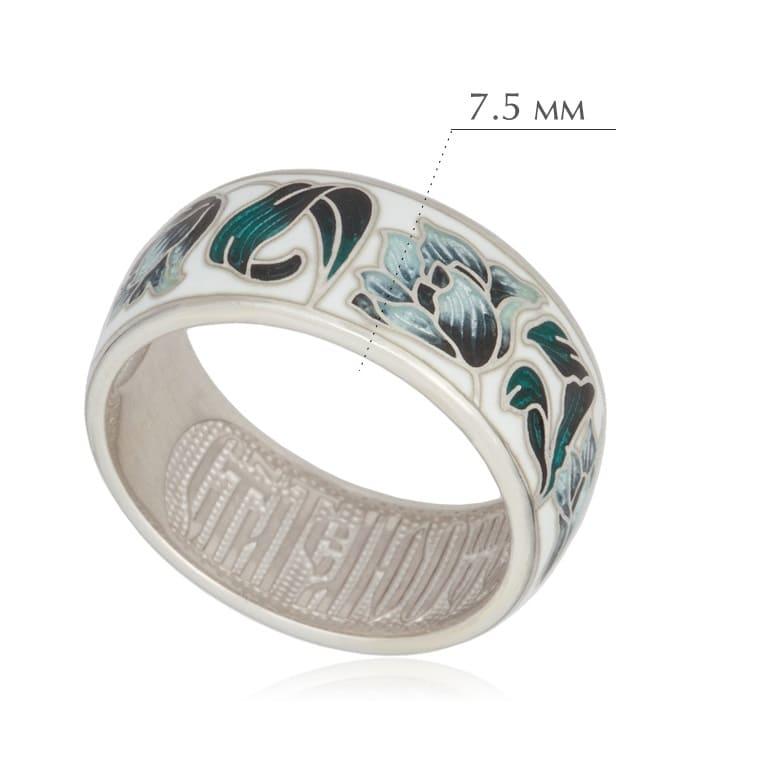 tyulpany dymchataya - Кольцо из серебра «Тюльпаны», дымчатое