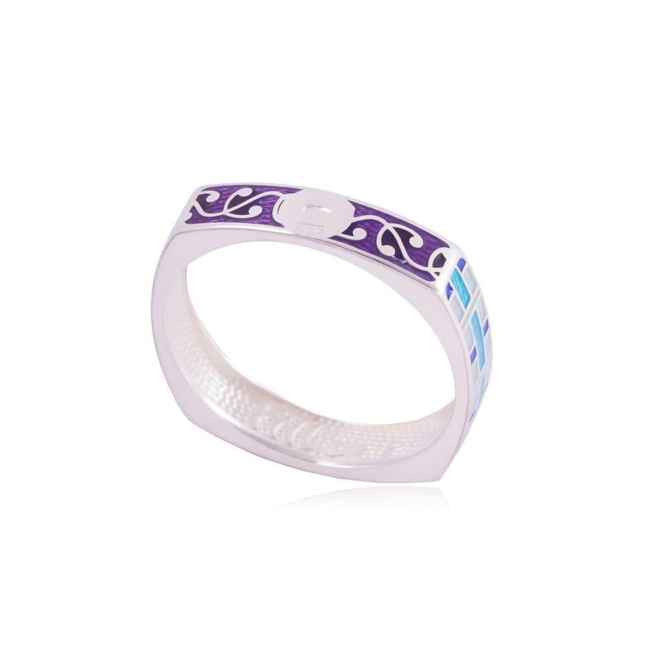 61 185 1s - Кольцо из серебра «Орнамент»