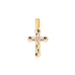 8 30 3z 1 300x300 - Нательный крест «Седмица» (золочение), фиолетово-белый